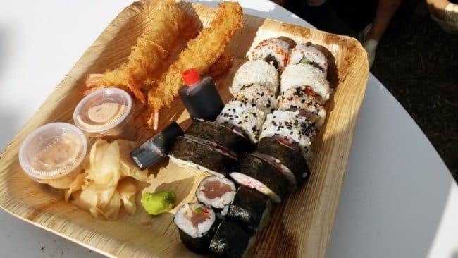 Sushi og tempurarejer