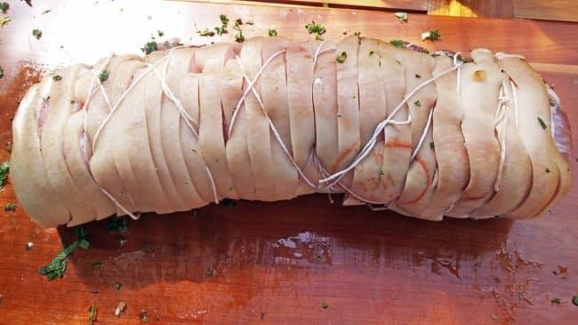 Porchetta - Rullet og snørret