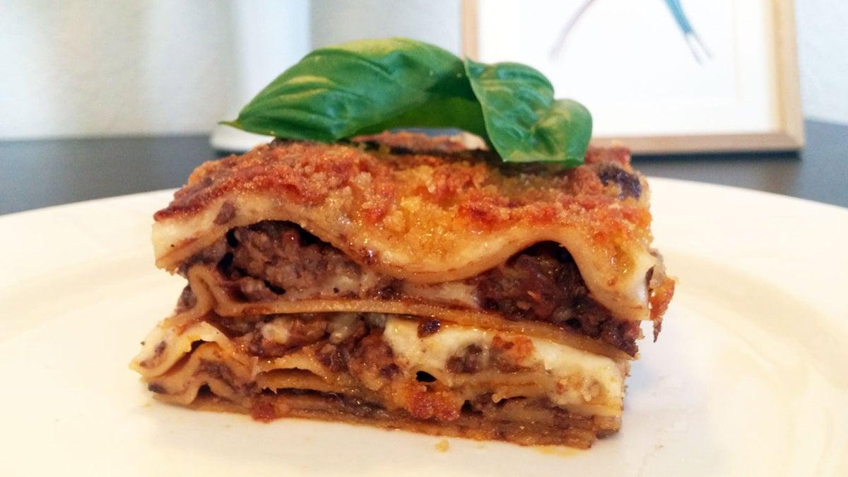 Hjemmelavet lasagne à la Madsvin