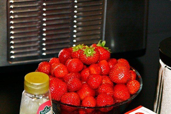 Skønne danske jordbær