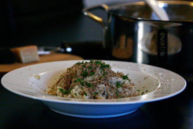 Svamperisotto med parmesan og trøffel