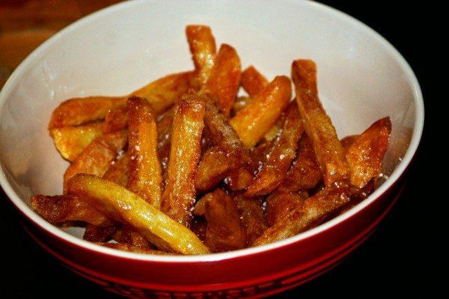 Hjemmelavede pommes frites - Sådan!