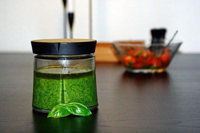 Grøn pesto - Så nemt er det!