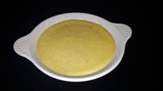 Crème brûlée inden brænding
