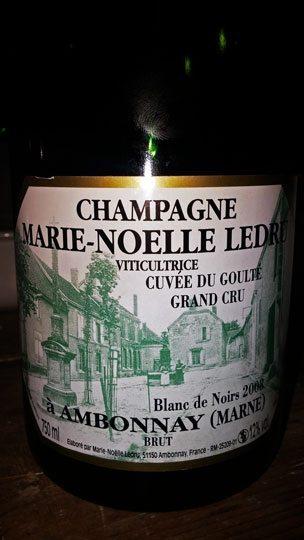 """Marie-Noelle Ledru """"Cuvée Du Goulte"""" 2008"""