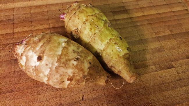 Smukke (og snart) bagte jordskokker