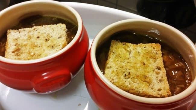Brød og suppe