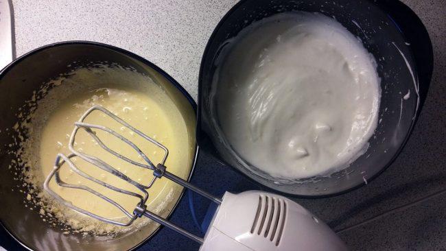Æggene piskes
