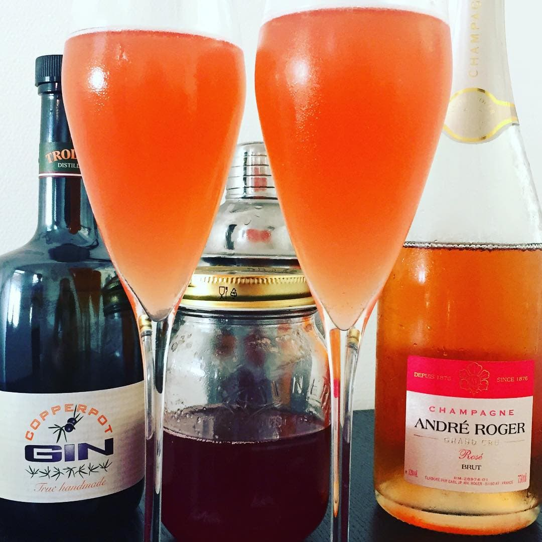 French 75: Sommercocktail med Champagne