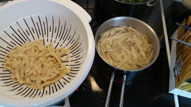 Færdig pasta