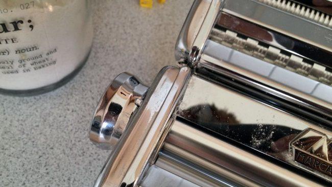 Trin på pastamaskinen