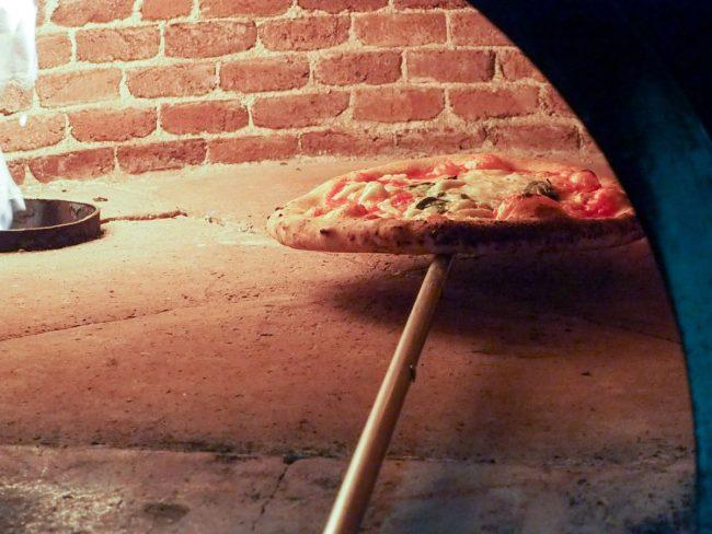 Færdig pizza