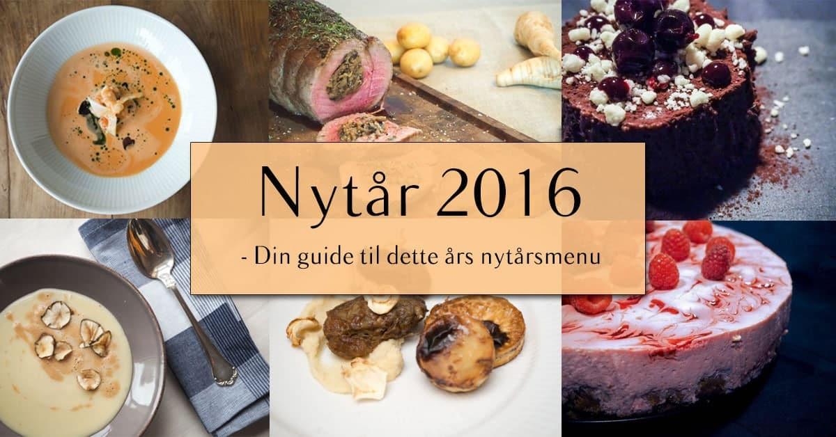 Nytårsmenu 2016 – Den ultimative guide til årets menu