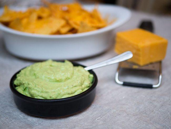 Den færdige guacamole