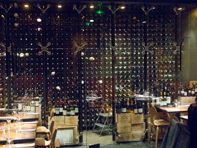 Fri udsigt til vinrummet