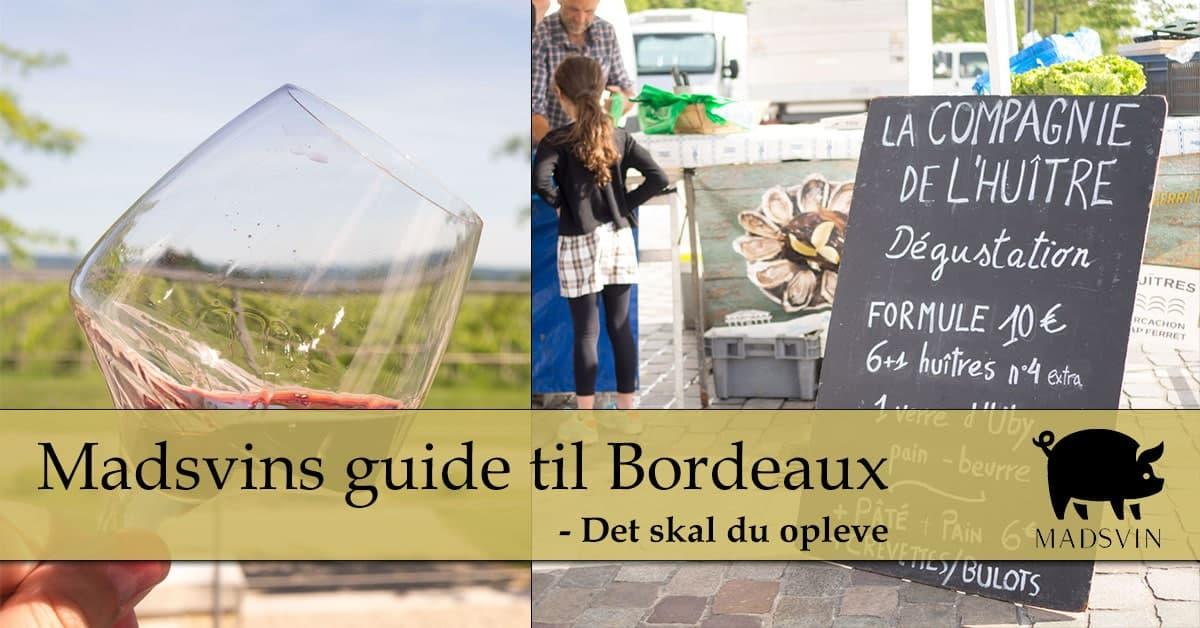 Bordeaux guide del 2 – Det skal du opleve