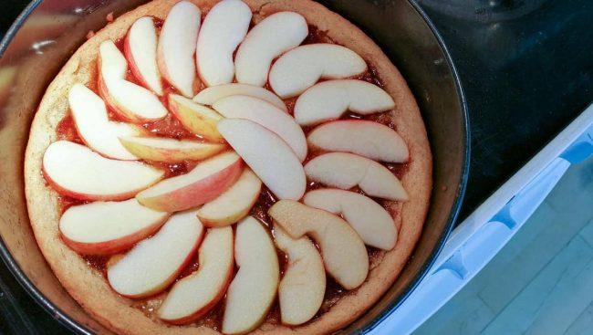 Fordel æblestykker