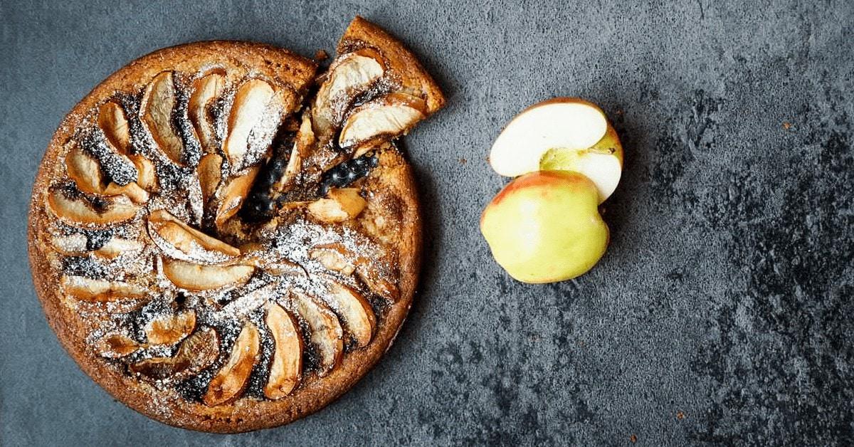 Æbletærte med farin og kanel - Din nye favoritopskrift