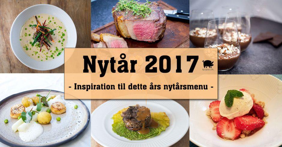 Nytårsmenu 2017 - Din inspiration til årets menu   Madsvin.com