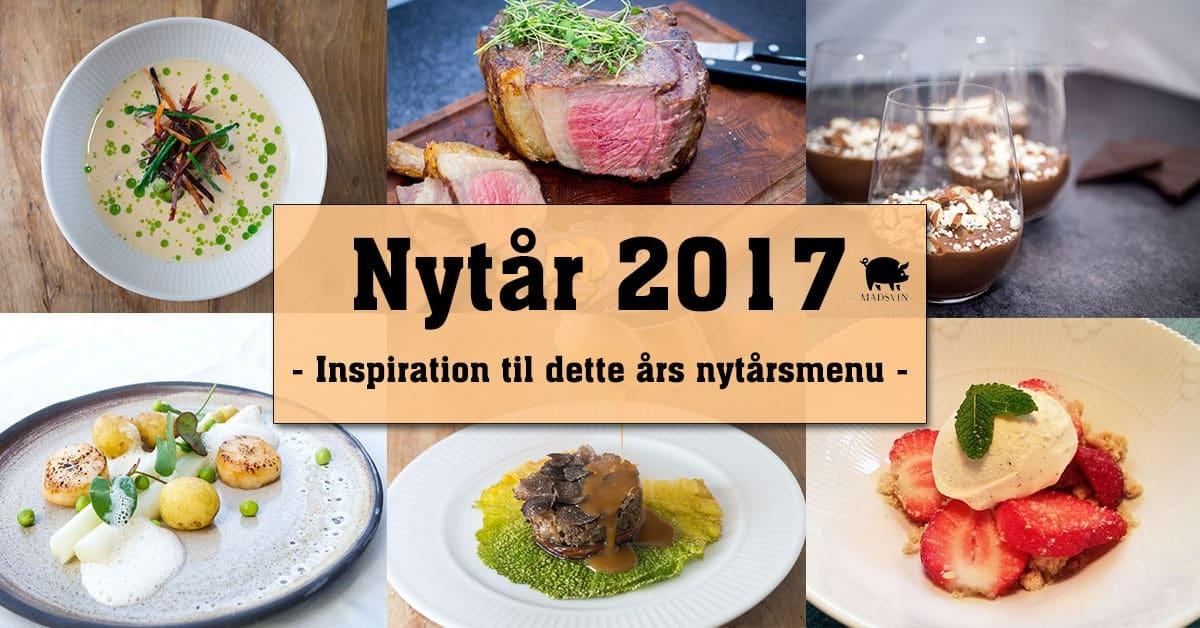 Nytårsmenu 2017 – Din inspiration til årets menu