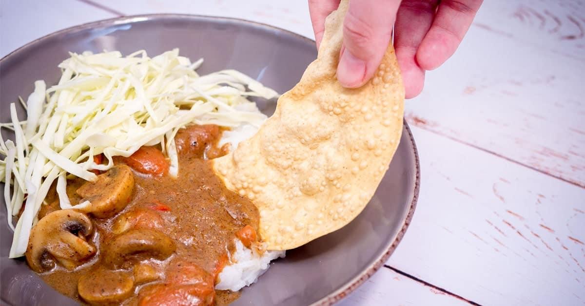 Indisk ret med garam masala