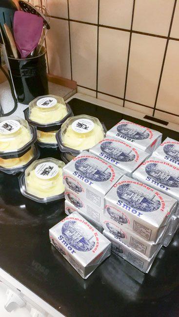 For god ordens skyld: der var altså smør til 7 forskellige mennesker her. Promise!