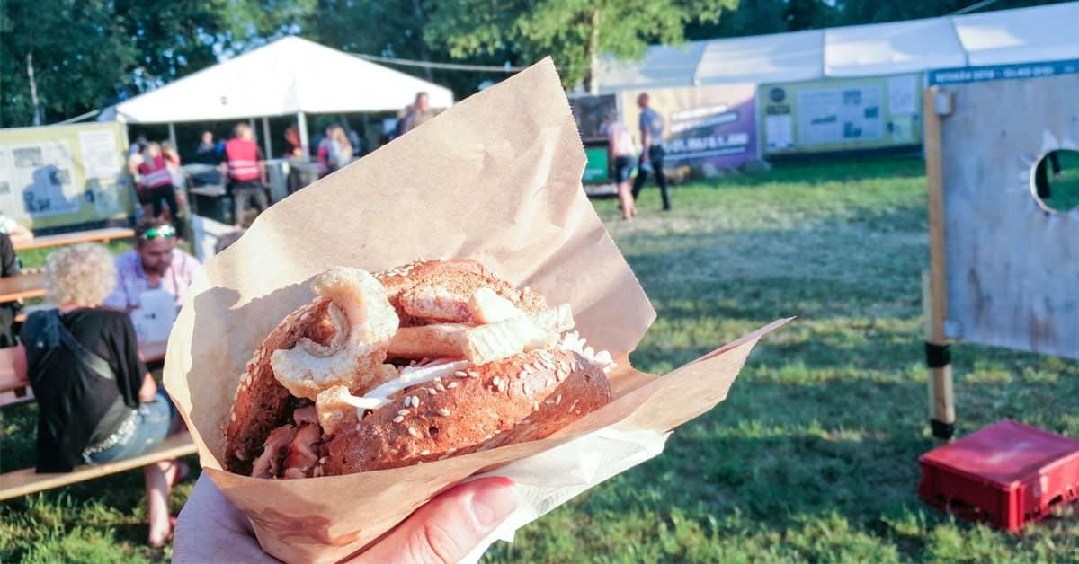 Jelling Musikfestival – Spiseoplevelser på åbningsdagen