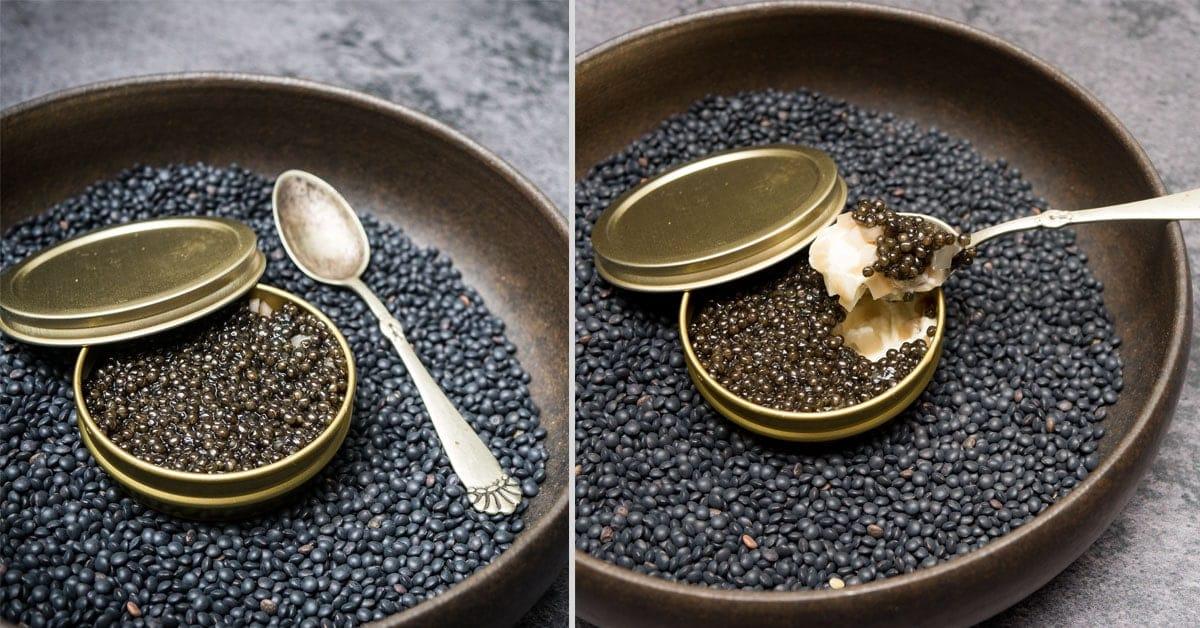 Caviar en Surprise - Madsvin style