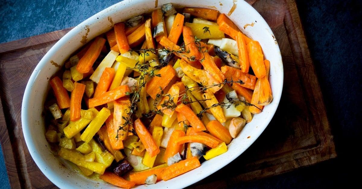 Bagte rodfrugter opskrift - De bedste rodfrugter i ovn