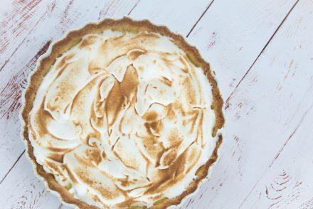 Citrontærte - Tarte au citron med marengs