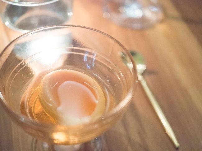 Ferskensorbet og Capelletti spritz