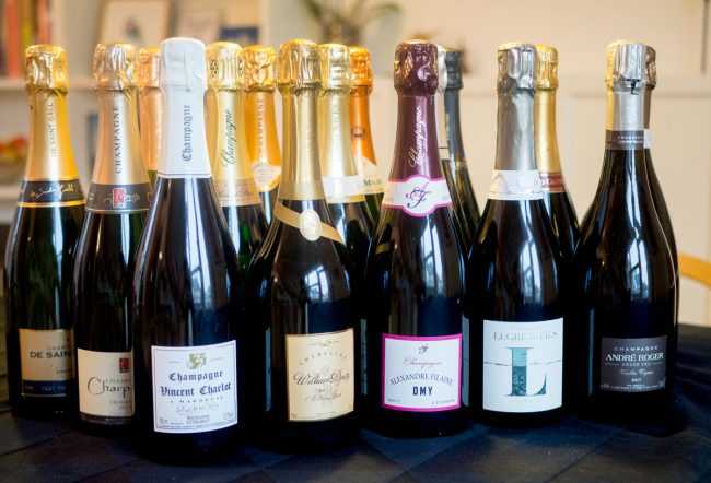 18 flasker Champagne