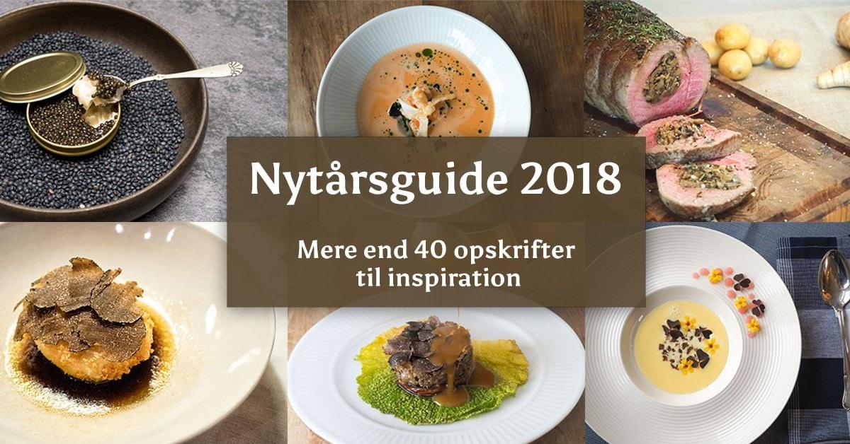 Nytårsmenu 2018 – Inspiration til din nytårsmenu [40+ opskrifter!]