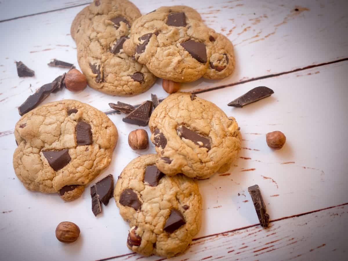 Cookies opskrift – De lækreste amerikanske cookies med chokolade