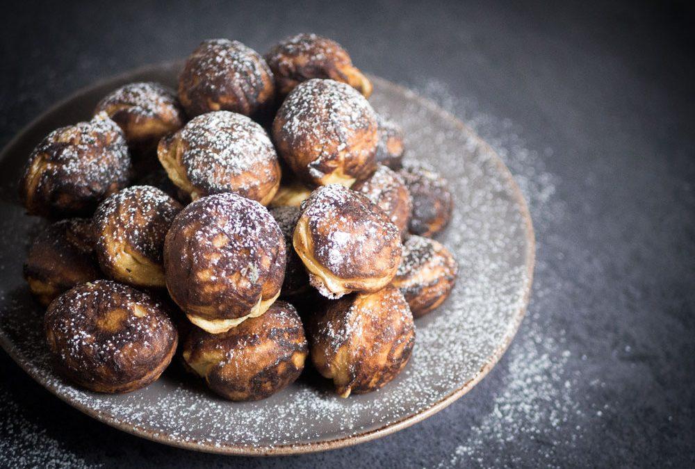 Æbleskiver – Luftige æbleskiver med kærnemælk og vanilje