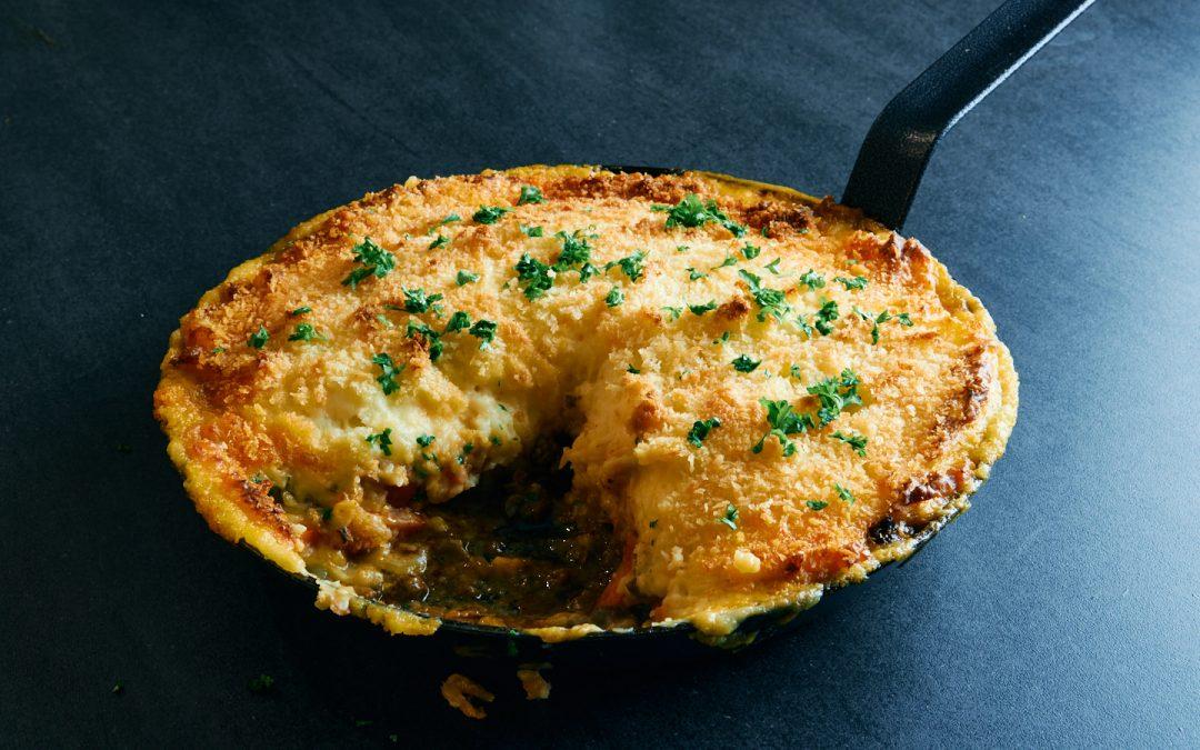 Shepherd's Pie med cheddar kartoffelmos