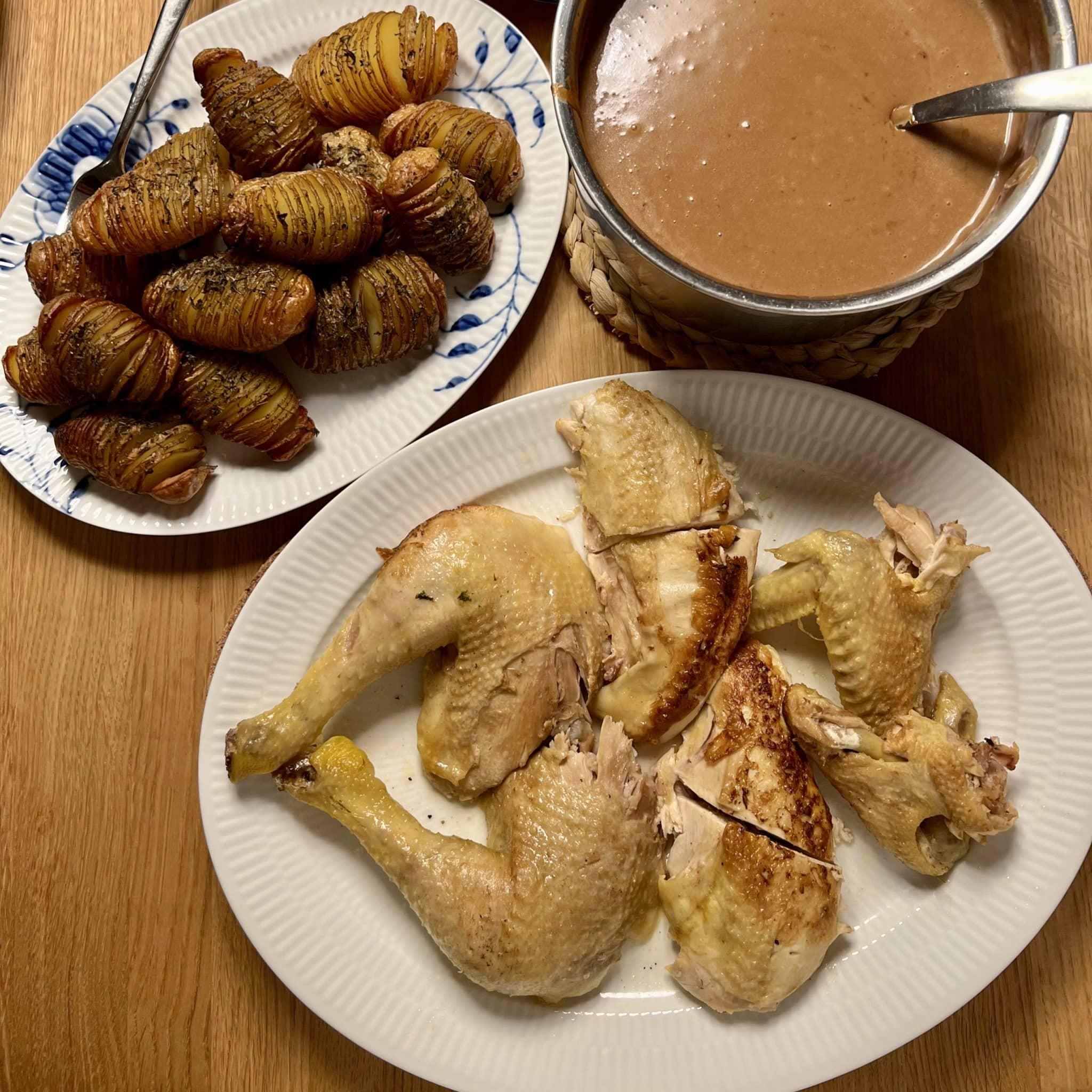 Grydestegt kylling – Gammeldags kylling når det er bedst